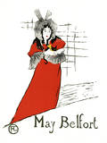 May Belfort Prints by Henri de Toulouse-Lautrec