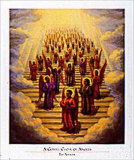 Chorale gospel d'anges Posters par Tim Ashkar