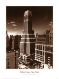 Office Tower Ny Prints by Ralph Uicker
