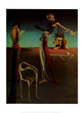 Woman with a Head of Roses Poster by Salvador Dalí
