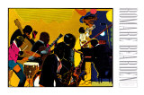 Out Chorus Posters by Romare Bearden