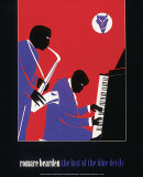 Last of the Blue Devils Posters par Romare Bearden
