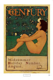 Century Poster Posters by Maxfield Parrish