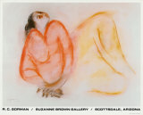 Mujer reclinada Poster por R. C. Gorman