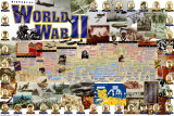 History of World War II Poster