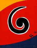 Sky Swirl Prints by Alexander Calder