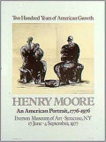 American Portrait Poster by Henry Moore