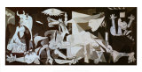 Guernica, cerca de 1937 Poster por Pablo Picasso