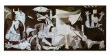 Guernica, n. 1937 Poster tekijänä Pablo Picasso