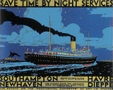 Save Time, Night Services Prints by Kenneth Shoesmith