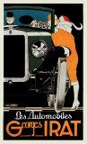 Automobiles Georges Irat Poster by René Vincent