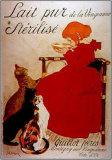 Lait Pur Sterilise Plakat av Théophile Alexandre Steinlen