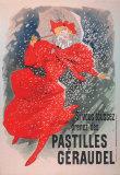 Pastilles Geraudel Prints by Jules Chéret