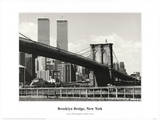 Brooklyn Bridge Print by Ralph Uicker