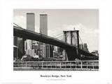 Brooklyn Bridge Print by Ralph Uicker