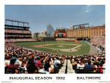 Camden Yards Baltimore Poster by Ira Rosen