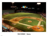Fenway Park at Night Prints by Ira Rosen