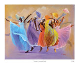 Tribute Print by Laverne Ross