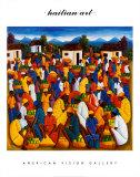 Haitianische Kunst Poster von Andre Pierre