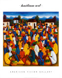 Arte haitiano Psters por Andre Pierre