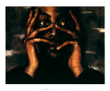 Intense Thoughts Prints by Laurie Cooper