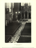 Church Aisle Posters by Scott Mutter