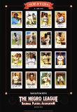 Leyendas de la liga de béisbol para negros Láminas por Lucinda Lewis