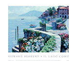 Lago Como Poster by Howard Behrens