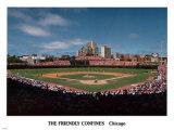Stade Wrigley - ©Photofile Posters par Ira Rosen