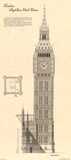 Big Ben Clock Tower Posters by Yves Poinsot