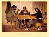 Poker Game Prints by Irving Sinclair