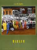Harlem Print by Michele Wood