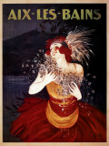 Aix-Les-Bains Prints by Leonetto Cappiello