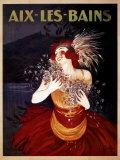 Aix-Les-Bains Affischer av Leonetto Cappiello
