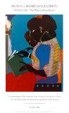 Lamp-Brown V Poster av Romare Bearden