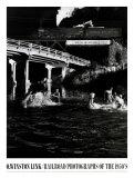 Espacio de baño en Hawksburg Creek Láminas por O. Winston Link