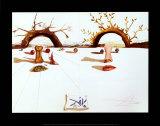 Amantes pacientes Láminas por Salvador Dalí