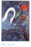 Champs de Mars Affiche par Marc Chagall