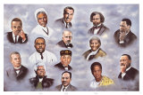 Fourteen Leaders Prints by Hullis Mavruk