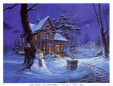 Once Upon a Winters Night Art by Michael Humphries