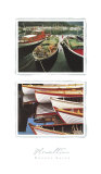 Wooden Boats Posters by Tom Haseltine