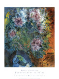 Enchantment Vesperal Prints by Marc Chagall