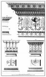 Neoclassical Entablature Posters by Michelangelo Pergolesi