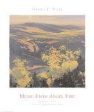 Monte Verde Lake, Angel Fire Prints by Teruko T. Wilde