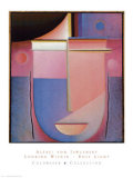 Looking Within Rosy Light Posters by Alexej Von Jawlensky