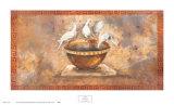 Fresco Doves Kunstdrucke von Maggie Brown