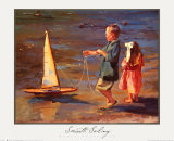 Smooth Sailing Art by Nancy Seamons Crookston