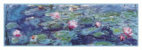 Waterlilies Posters van Claude Monet