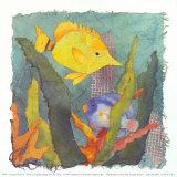 Tropische FischeIII Poster von Linn Done