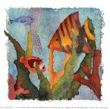 Tropical Fish I Kunstdrucke von Linn Done
